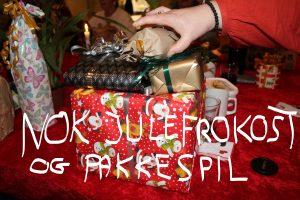 NOK Julefrokost og pakkespil